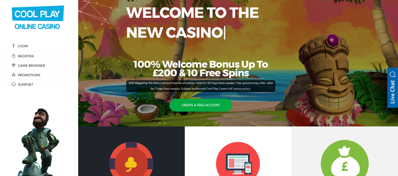 COOL PLAY ONLINE CASINO