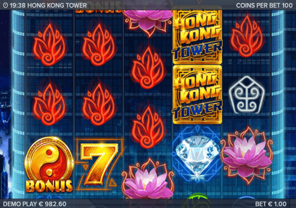 HONG KONG TOWER AT CHOMP CASINO