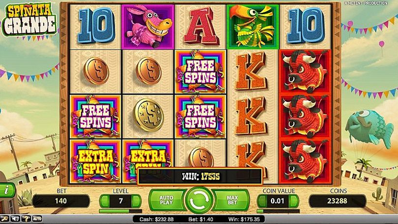 Spinata Grande at dazzle casino