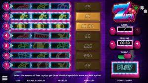 7UP SLOTS at vegas paradise casino