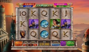 AGE OF GODS GOD OF STORMS at netbet vegas