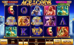 AGE OF THE GODS at titanbet casino