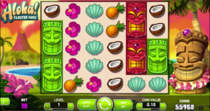 ALOHA CLUSTER PAYS at netbet casino