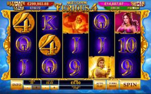 Age of Gods: Furious 4 at slots heaven