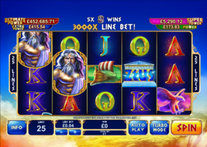 Age of Gods: King of Olympus at netbet vegas