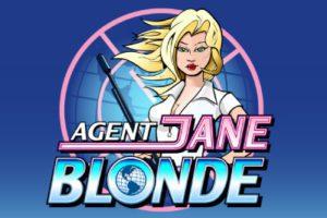 Agent Jane Blonde at slingo
