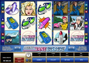 Agent Jane Blonde at all british casino