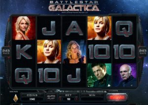 Battlestar Galactica at slingo