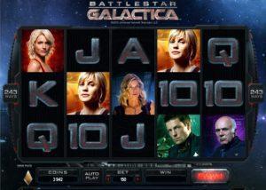 Battlestar Galactica at slingo