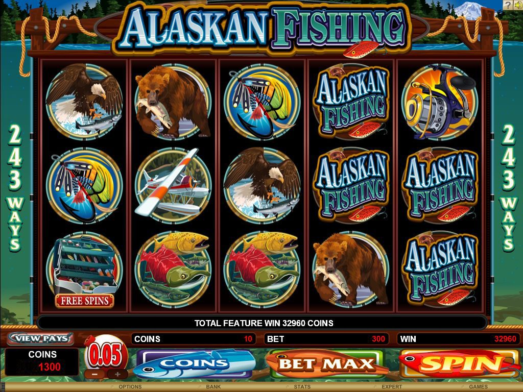 ALASKAN FISHING at dazzle casino