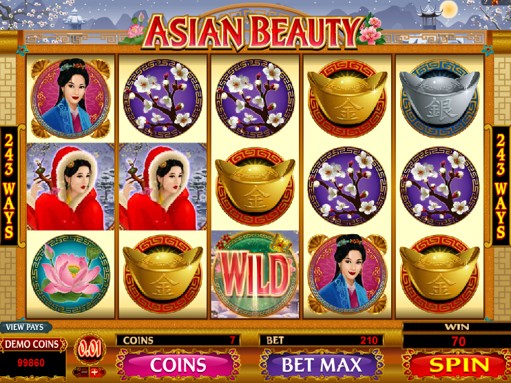 ASIAN BEAUTY at glimmer casino