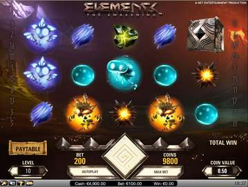 Elements the Awakening at all british casino