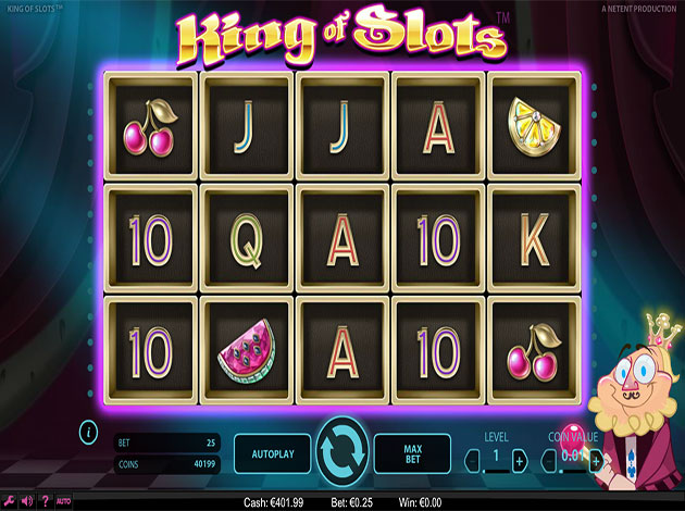 KING OF SLOTS at slingo casino