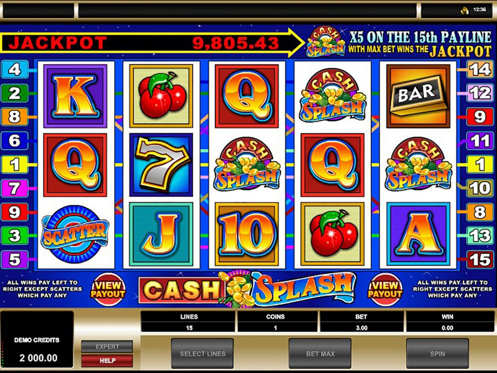 cash splash 3 reel at yeti casino