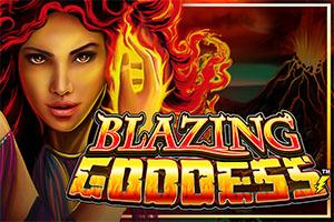 Blazing Goddess at kerching casino