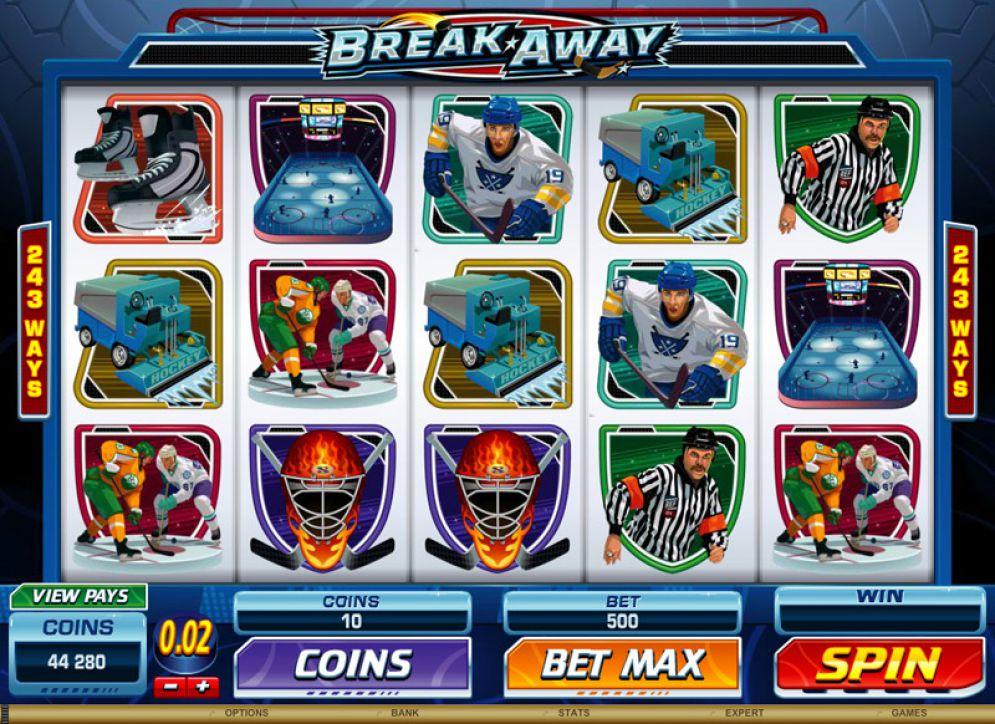 BREAK AWAY at netbet casino