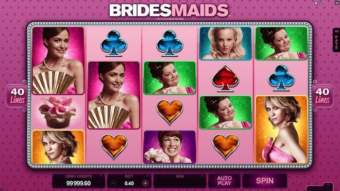 BRIDESMAIDS AT CONQUER CASINO
