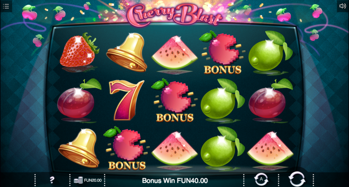 CHERRY BLAST at chomp casino