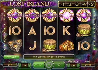 LOST ISLAND at yeti casino