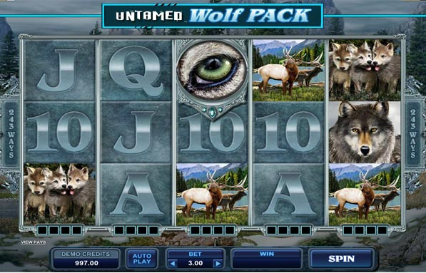 UNTAMED WOLF PACK at glimmer casino