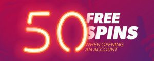 50 free spins no deposit slots
