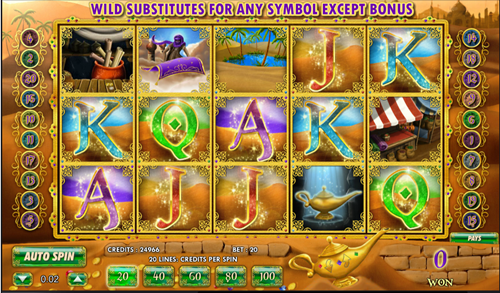 Aladdin's Legacy at vegas paradise casino