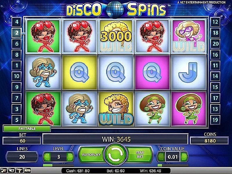 Disco Spins at yeti casino