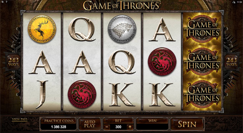 Game of Thrones 243 ways at royal house casino