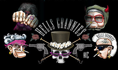 Hells Grannies at vegas paradise casino