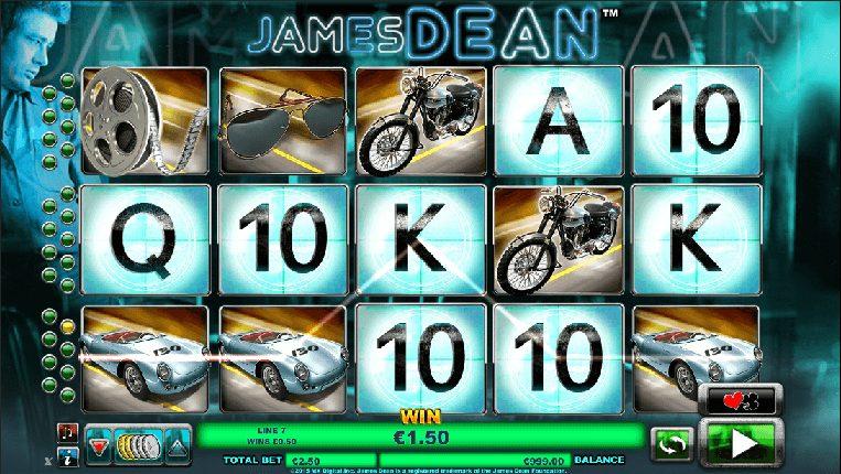 James Dean at boyle sports casino