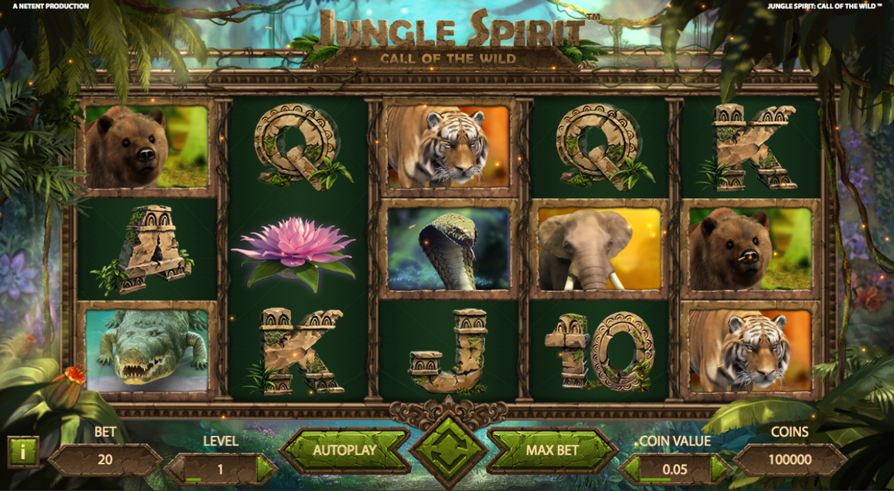 Jungle Spirit: Call of the Wild at fruity king