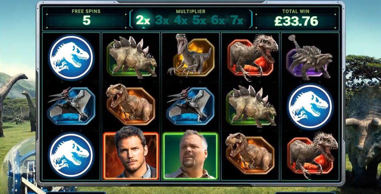 Jurassic World at fruity king