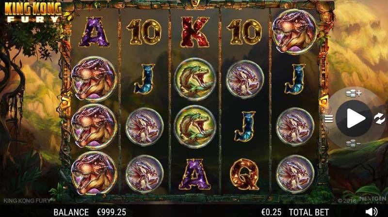 King Kong Fury at dazzle casino