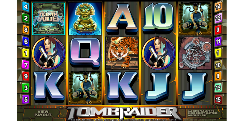 Lara Croft: Tomb Raider at royal house casino