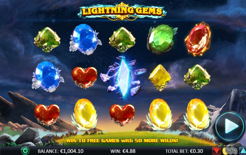 Lightning Gems at royal house casino