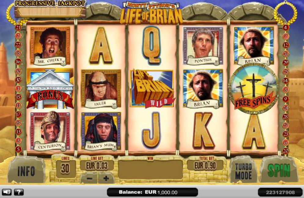 Monty Pythons – Life of Brian at netbet casino