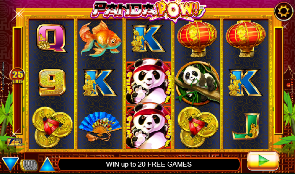 Panda Pow at conquer casino
