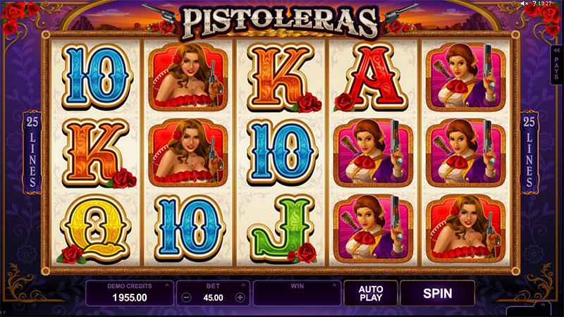 Pistoleras at touch lucky casino