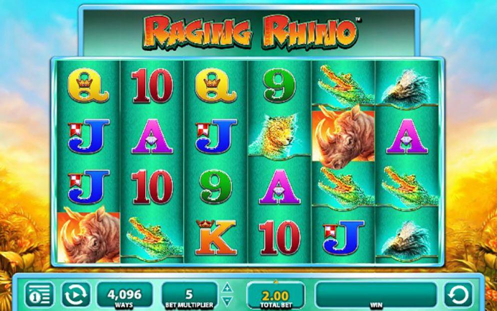 Raging Rhino at northern lights casino