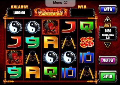 Red Dragon at vegas paradise casino
