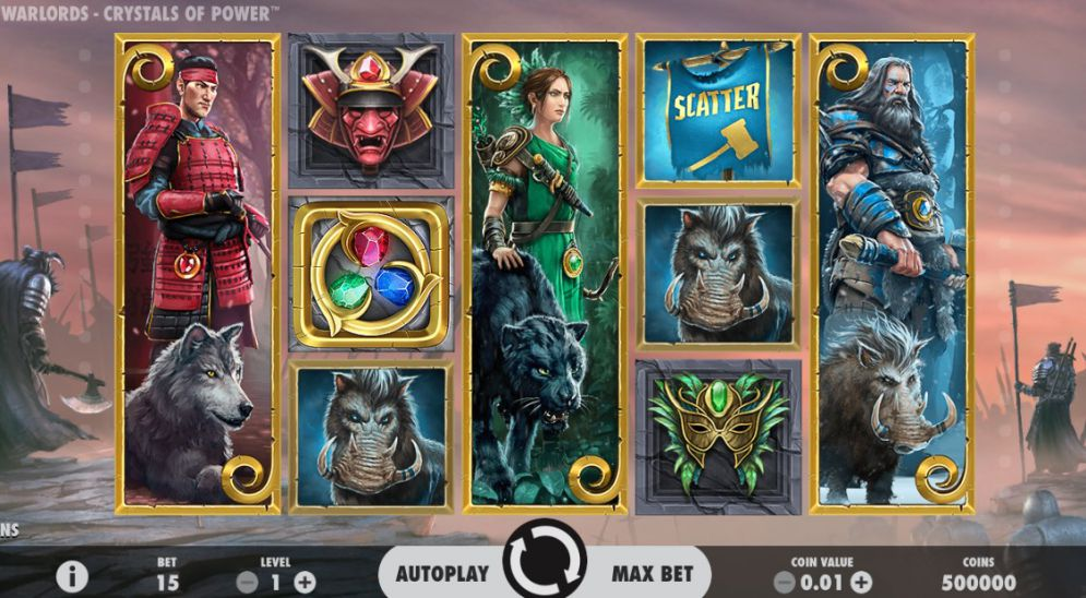 Warlords: Crystals of Power at yeti casino