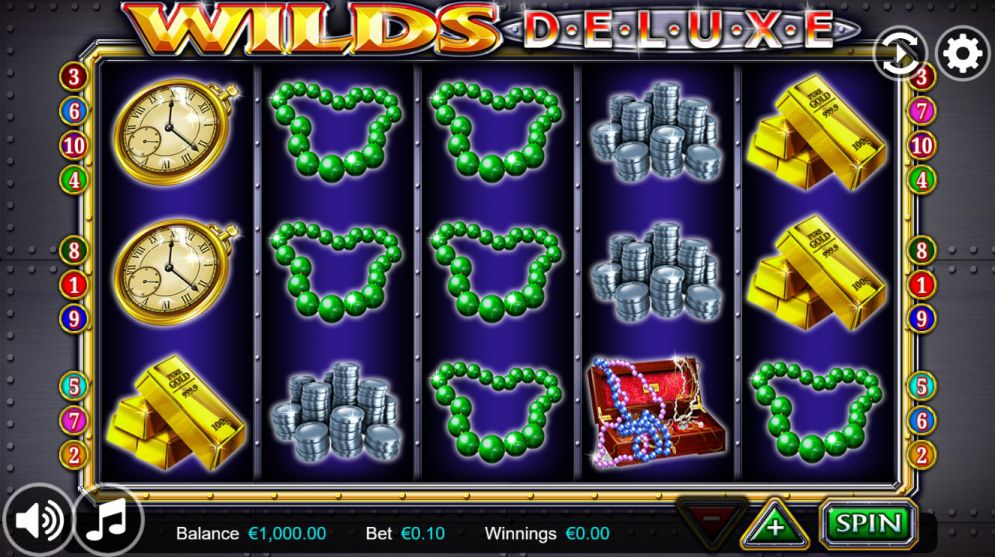 Wilds Deluxe at touch lucky casino