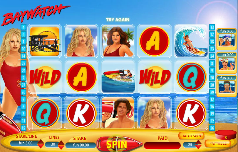 Baywatch at chomp casino