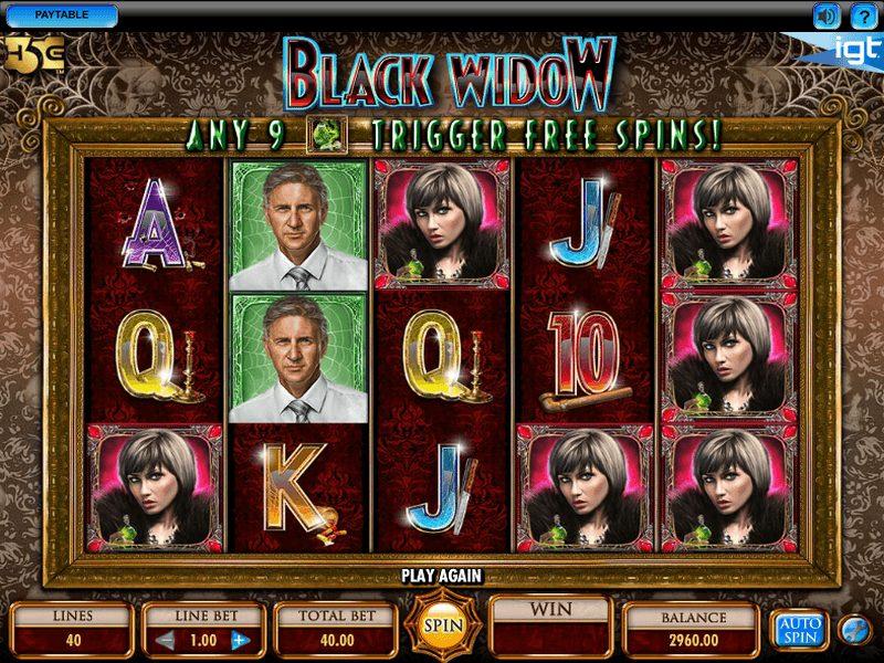 Black Widow at scorching slots