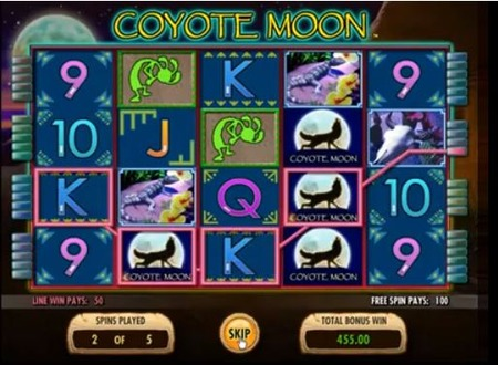 Coyote Moon at scorching slots