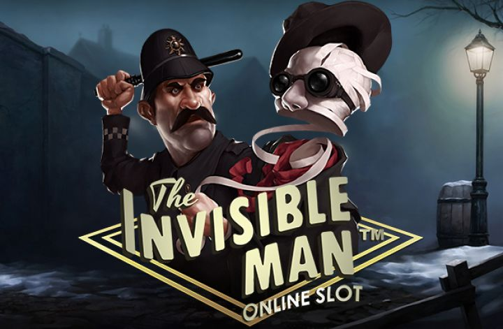 Invisible man at kerching casino