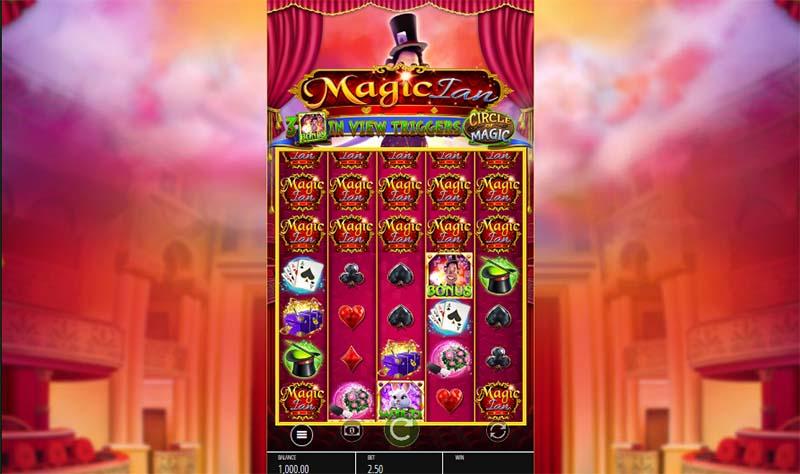 Magic Ian at kerching casino