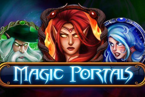 Magic Portals at fruity king