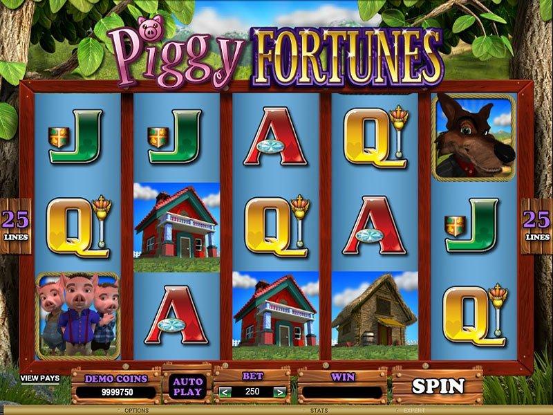 Piggy Fortunes at genesis casino