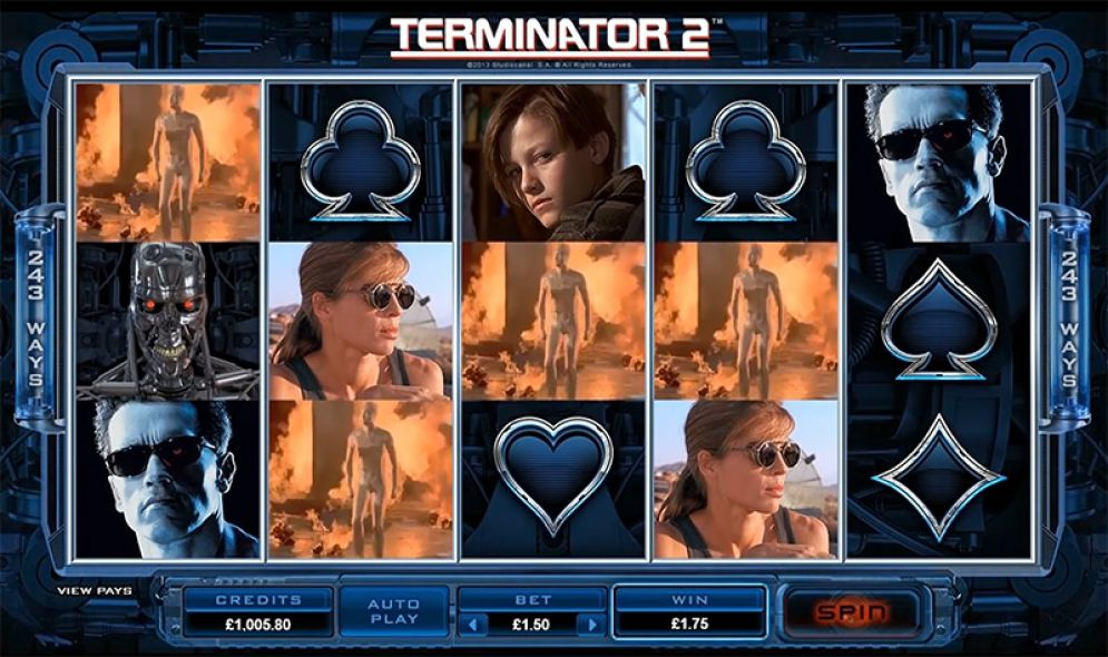 Terminator 2 at royal house casino